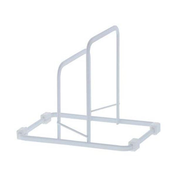 (まとめ)高儀 自立式まな板スタンド ホワイト 1個【×20セット】