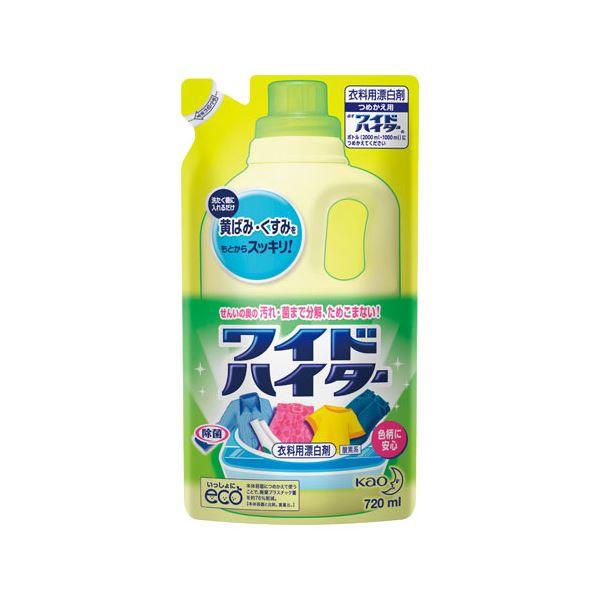 (まとめ) 花王 ワイドハイター詰替用720ml 15袋【×3セット】