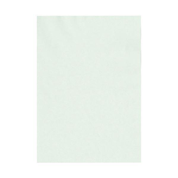 (まとめ) 北越コーポレーション 紀州の色上質A4T目 薄口 うす水 1冊(500枚) 【×5セット】