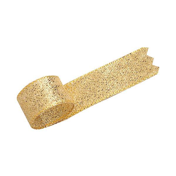(まとめ) タカ印 グランドメタルリボン 12mm×20m 金 50-7300 1巻 【×30セット】