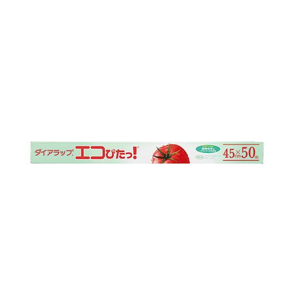 (まとめ)三菱樹脂 ダイアラップ エコぴたっ!45cm×50m 1本【×20セット】