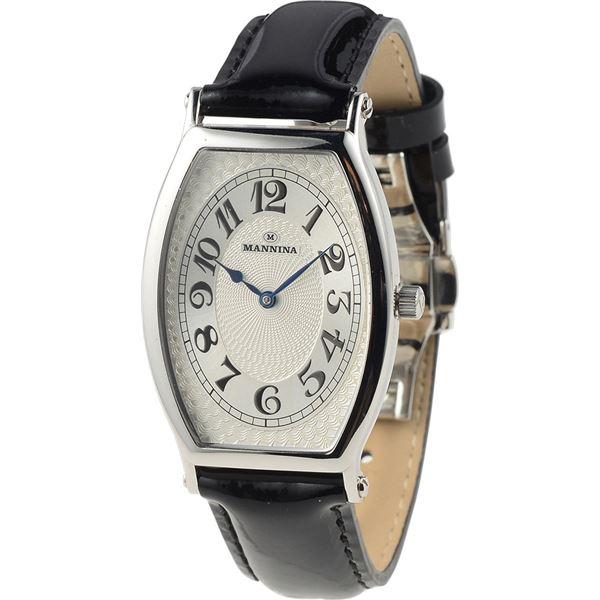MANNINA(マンニーナ) 腕時計 MNN002-01 メンズ 正規輸入品 ブラック
