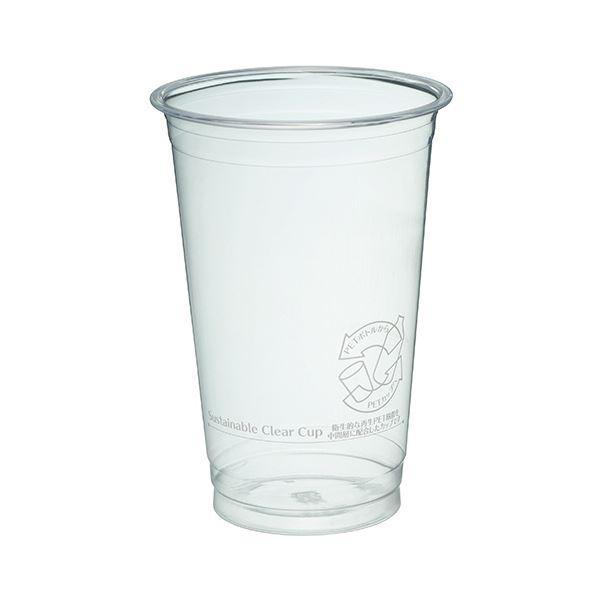 (まとめ)サンナップ サスティナブルクリアーカップ 510ml(17オンス)C92-510SCC 1パック(40個)【×10セット】