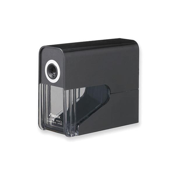 タテにもヨコにも置ける スリムな乾電池式 ファクトリーアウトレット まとめ オンラインショップ アスカ ブラック ×5セット 乾電池式電動シャープナー