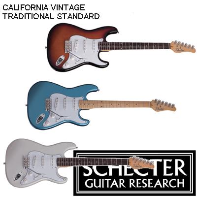 SCHECTER ダイヤモンド・シリーズ CALIFORNIA VINTAGE TRADITIONAL STANDARD / シェクター カリフォルニアヴィンテージ トラディショナルスタンダード,エレキギター
