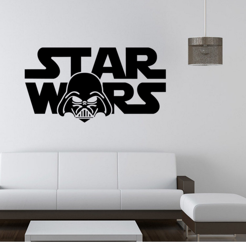 STAR WARS スターウォーズ 転写式 ウォールステッカー
