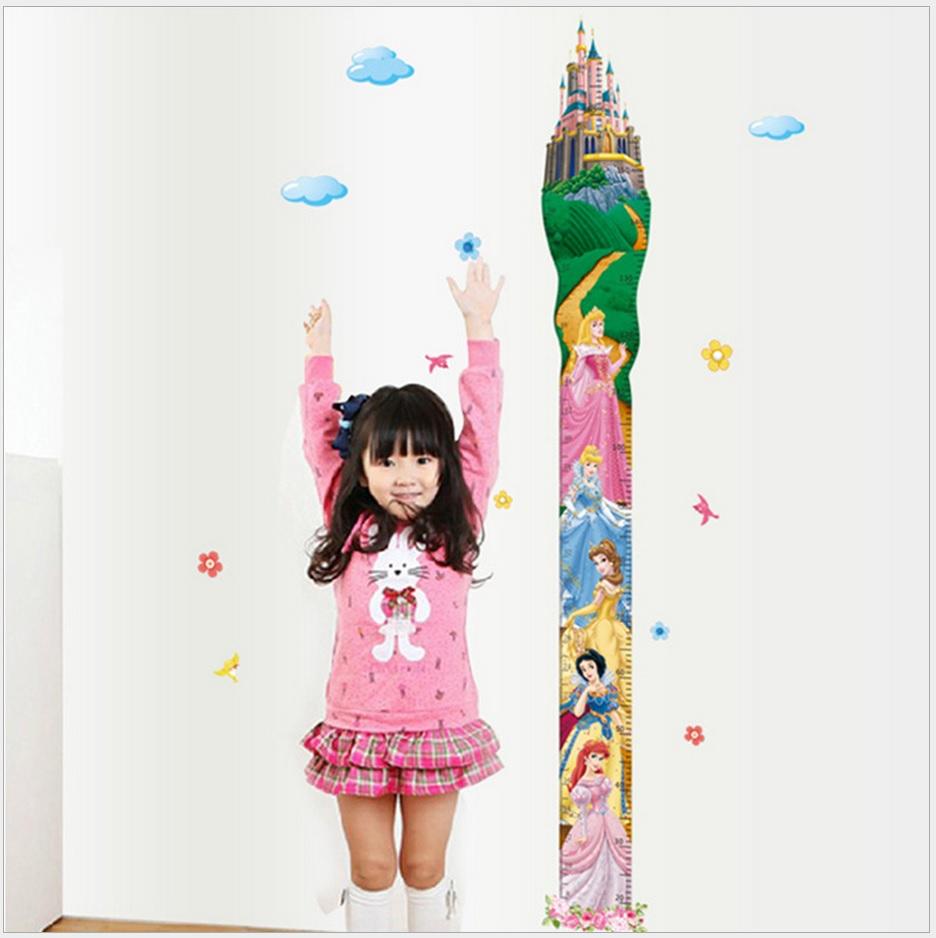楽天市場 Disney ディズニー プリンセス身長計 身長が測れる