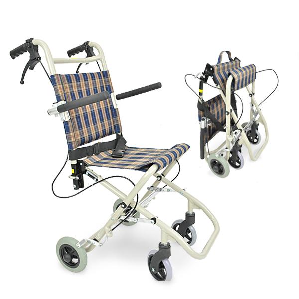 シルバーカー 車椅子 アルミ製 介助 リハビリ 携帯式 折りたたみ式 収納用バッグ付き 介助用車椅子「介護用品」 「プレゼント」 「ギフト」 「父の日」