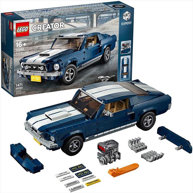 送料無料/レゴ (LEGO) クリエーター エキスパートモデル フォード マスタング 1967 GT ファストバック10265 クリスマスプレゼント 並行輸入品 対象年齢16歳~/並行輸入品/最安値に挑戦中!