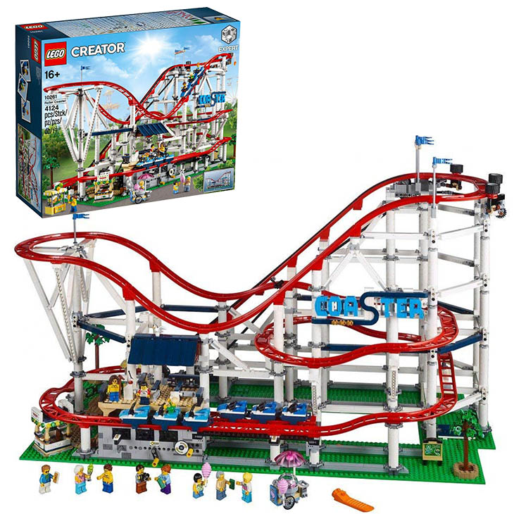 送料無料/レゴ(LEGO) クリエイター ローラーコースター 10261/ブロック 創作 入園 入学祝い 対象年齢16歳~/最安値に挑戦中!