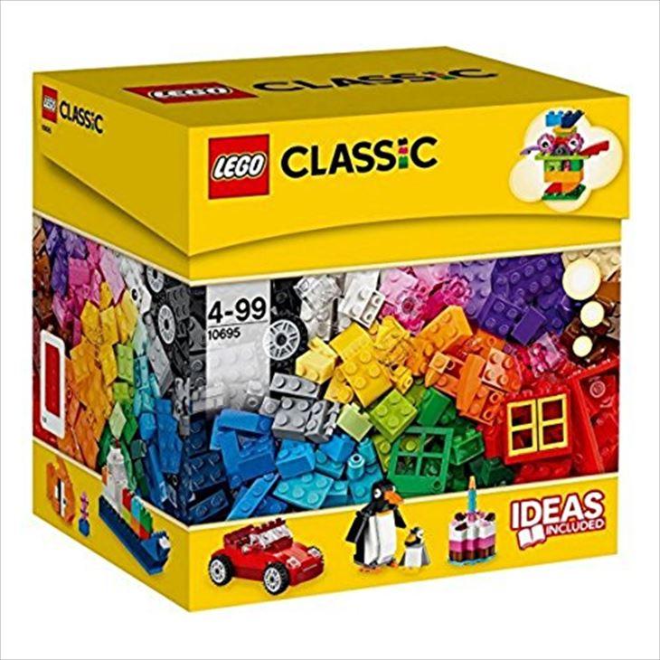 送料無料/レゴ (LEGO) クラシック アイデアパーツ(スペシャルセット) 10695/ブロック 創作 入園 入学祝い 対象年齢4歳~/最安値に挑戦中!