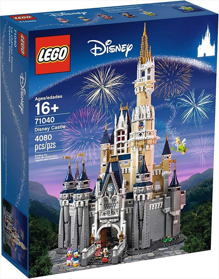 送料無料/レゴ(LEGO) ディズニーシンデレラ城 Disney World Cinderella Castle 71040 ブロック 創作 入園 入学祝い 対象年齢16歳~/並行輸入品/最安値に挑戦中!