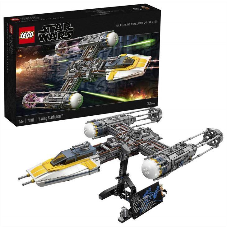 送料無料/レゴ(LEGO) スター・ウォーズ Yウィング・スターファイター(TM) 75181 ブロック 創作 入園 入学祝い 対象年齢14歳~/並行輸入品/最安値に挑戦中!