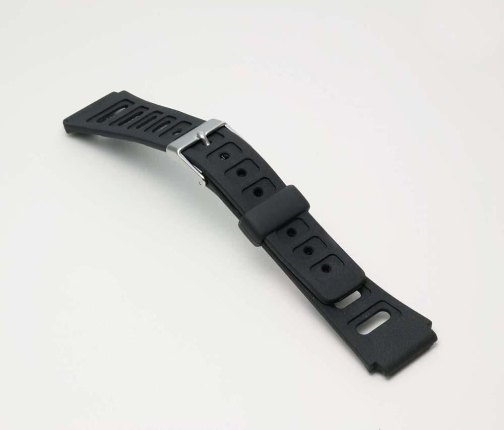 ネコポス便選択時:送料無料 時計 国内正規総代理店アイテム ベルト 時計ベルト 腕時計ベルト 時計バンド バンド 18mm 腕時計バンド 往復送料無料 バンビ 薄型 ブラック BG062A スポーツタイプウレタンベルト