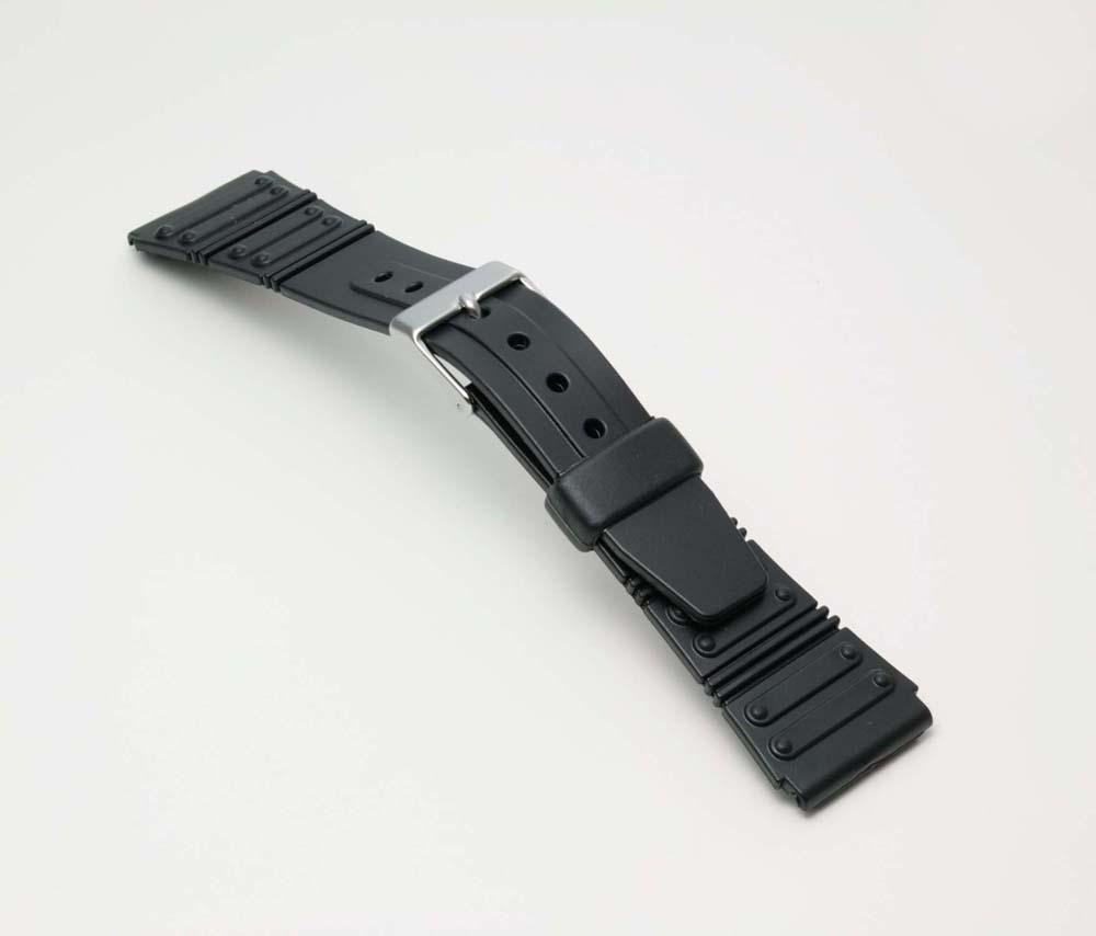 ネコポス便選択時:送料無料 時計 ベルト 時計ベルト 腕時計ベルト 時計バンド バンド 好評 大規模セール バンビ 20mm BG069A 薄型 スポーツタイプウレタンベルト 腕時計バンド ブラック