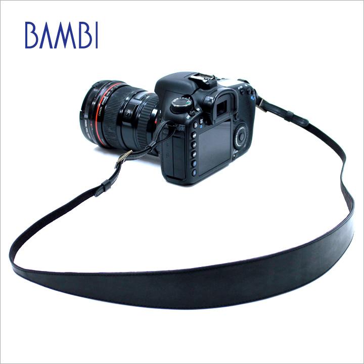 カメラストラップ BAMBI バンビ カメラ用 ネックストラップ GUIDI革 グイディ革 レザー 【NSG-Z7】【CP+出品商品】