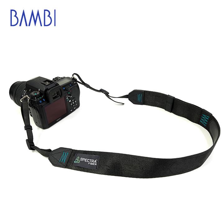 BAMBI バンビ カメラストラップ カメラ用 ハンドストラップ機能付き ネックストラップ スペクトラファイバー 【SPF-H01】【CP+ 2019 出品商品】 【送料無料】