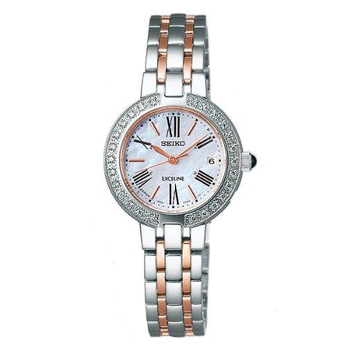 【SEIKODOLCE&EXCELINE】セイコードルチェアンドエクセリーヌ 腕時計 レディース時計 電波 ソーラー電波時計 SWCW008【お取り寄せ商品】