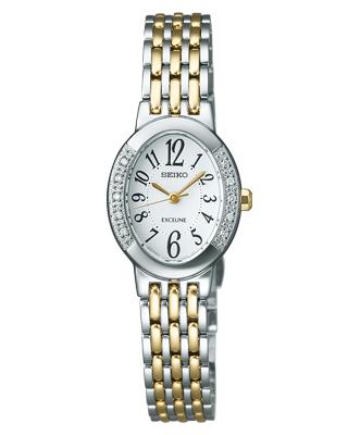 【SEIKO DOLCE&EXCELINE】セイコードルチェアンドエクセリーヌ腕時計 レディース時計 ソーラー SWCQ051 【お取り寄せ商品】