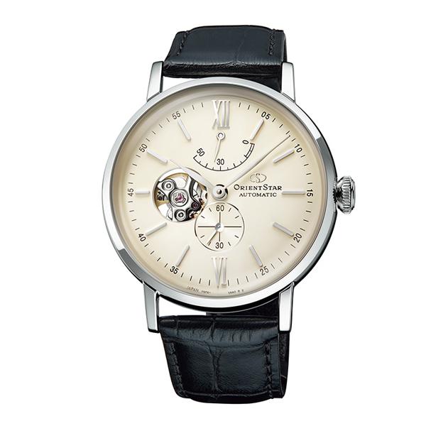 オリエントスター 腕時計 メンズ ORIENT STAR 日本製 自動巻き オープンハート クラシック RK-AV0002S 革ベルト 時計 正規品