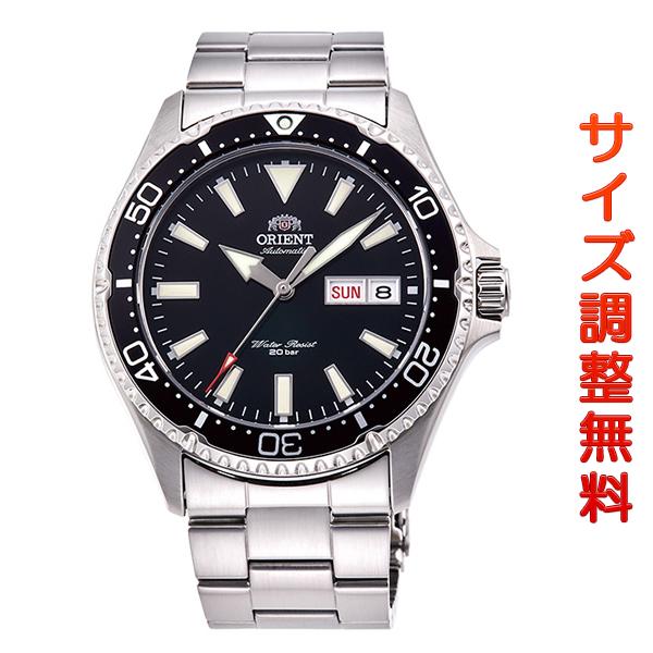 オリエント 腕時計 メンズ ORIENT 日本製 自動巻き スポーツ MAKO マコ RN-AA0001B ブラック 時計 正規品