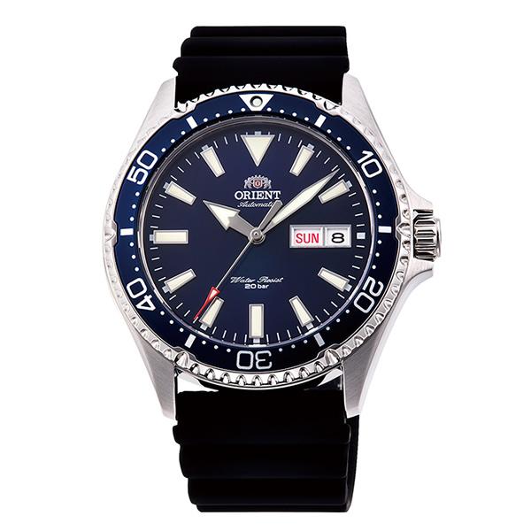 オリエント 腕時計 メンズ ORIENT 日本製 自動巻き スポーツ MAKO マコ RN-AA0004L ネイビー×ブラック 時計 正規品