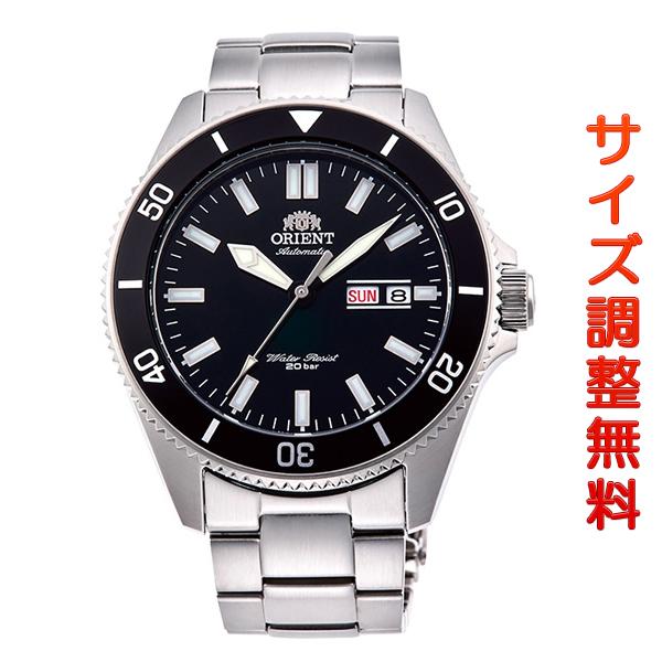 オリエント 腕時計 メンズ ORIENT 日本製 自動巻き スポーツ MAKO マコ RN-AA0006B ブラック 時計 正規品