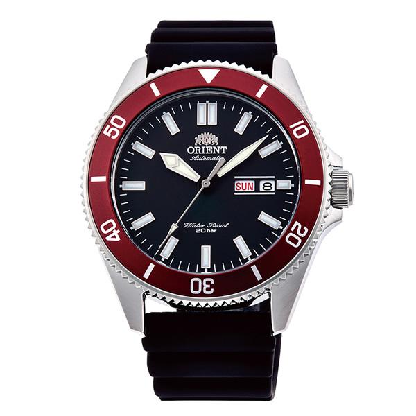 オリエント 腕時計 メンズ ORIENT 日本製 自動巻き スポーツ MAKO マコ RN-AA0008B ブラック 時計 正規品