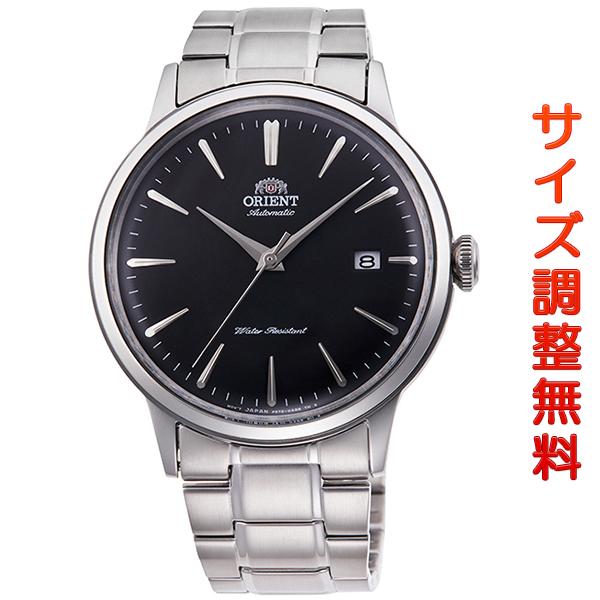 オリエント 腕時計 メンズ ORIENT 日本製 自動巻き クラシック カレンダー RN-AC0002B ブラック 時計 正規品