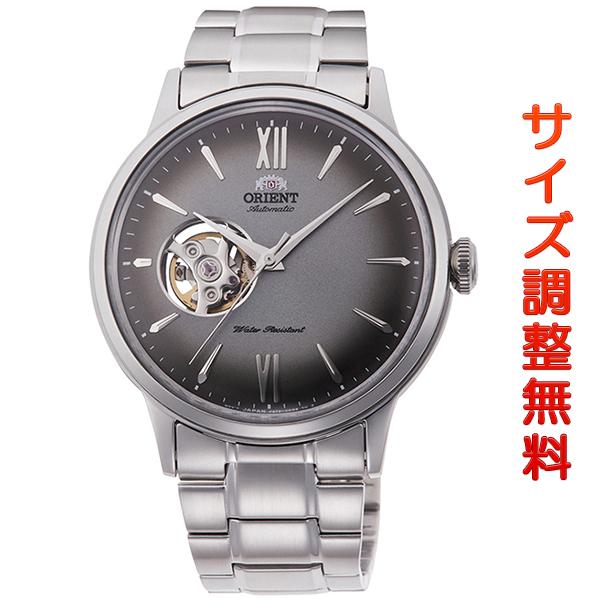 オリエント 腕時計 メンズ ORIENT 日本製 自動巻き クラシック セミスケルトン RN-AG0018N グレーグラデーション 時計 正規品