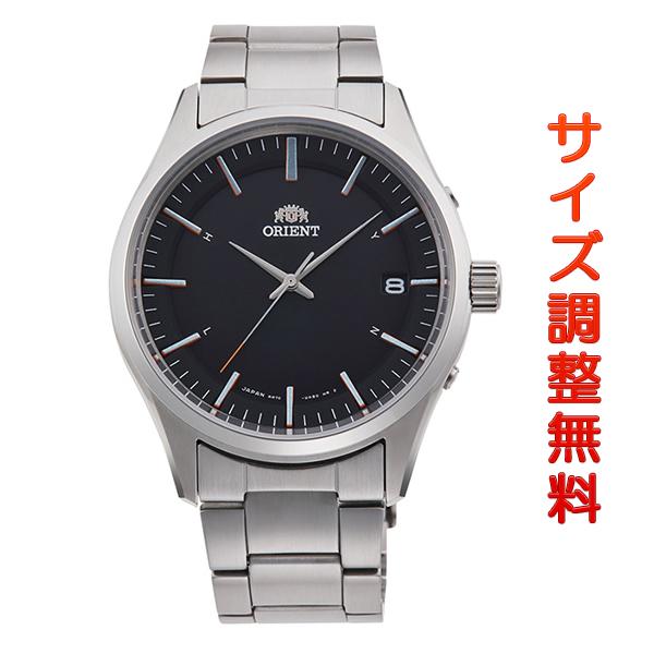 オリエント 腕時計 メンズ ORIENT 日本製 電波ソーラー コンテンポラリー カレンダー RN-SE0002B ブラック 時計 正規品