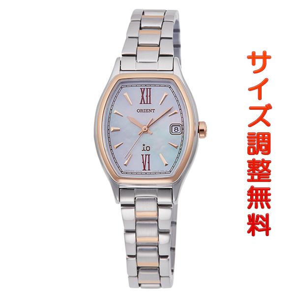 オリエント 腕時計 レディース ORIENT 日本製 ソーラー イオ ナチュラル&プレーン トノー RN-WG0010A ピンクシェル 時計 正規品