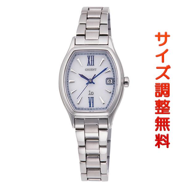 オリエント 腕時計 レディース ORIENT 日本製 ソーラー イオ ナチュラル&プレーン トノー RN-WG0011S ホワイト 時計 正規品