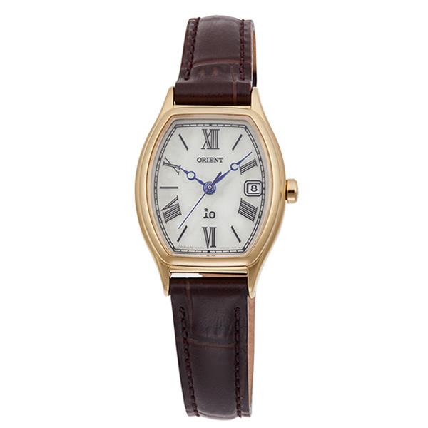 オリエント 腕時計 レディース ORIENT 日本製 ソーラー イオ ナチュラル&プレーン トノー RN-WG0013S 革ベルト 時計 正規品