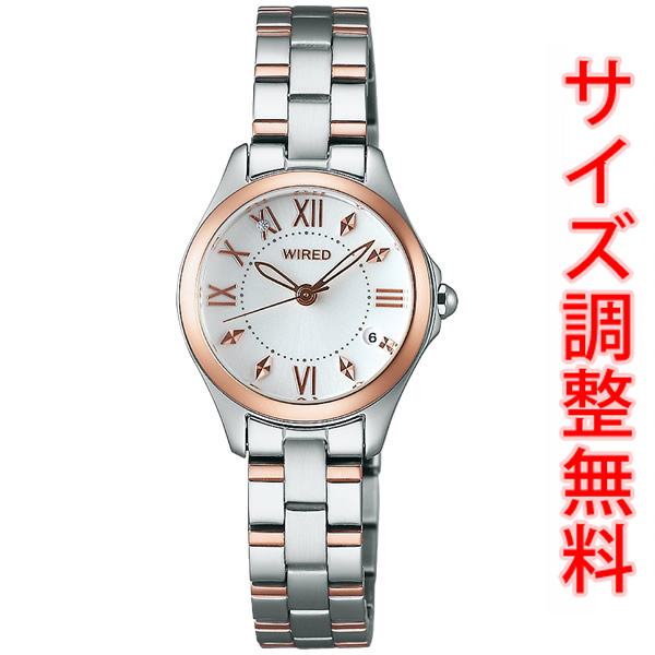 AGEK422 セイコー ワイアード エフ SEIKO WIRED f 腕時計 レディース ペアスタイル PAIR STYLE AGEK422