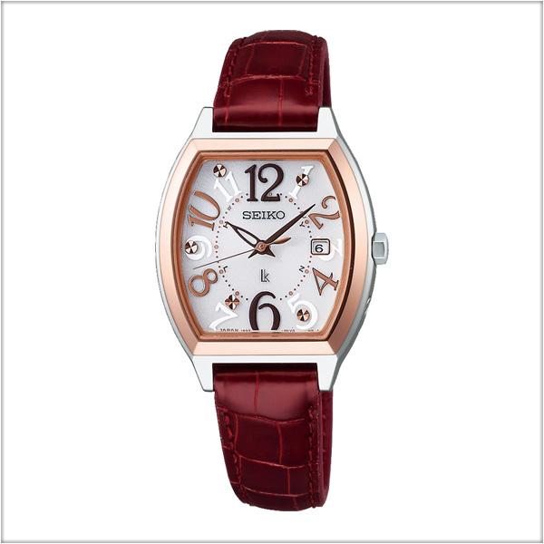 セイコー ルキア SEIKO LUKIA 電波 ソーラー 電波時計 腕時計 レディース SSVW094 【お取り寄せ商品】 正規品