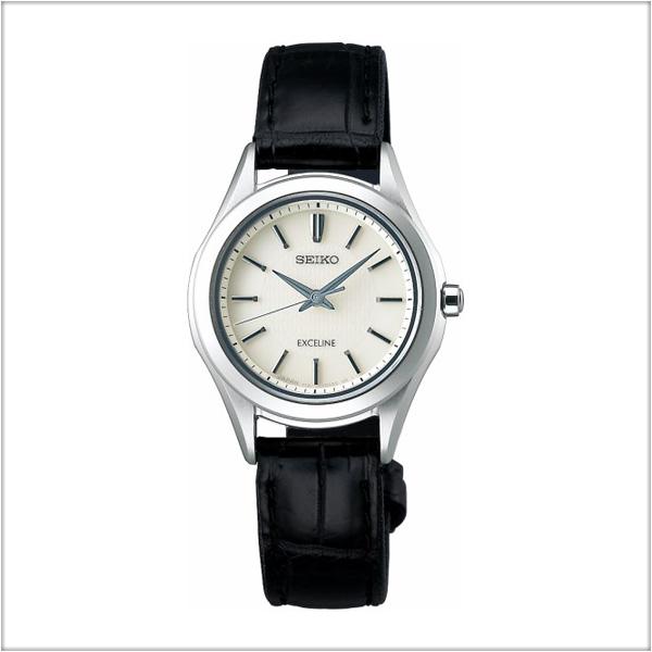セイコー エクセリーヌ SEIKO EXCELINE ソーラー 腕時計 レディース ペアウォッチ SWCP009 【お取り寄せ商品】