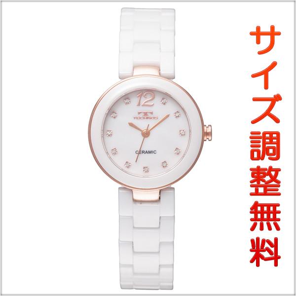 テクノス レディース 腕時計 TECHNOS TSL613PW セラミック ホワイト 【お取り寄せ商品】 正規品