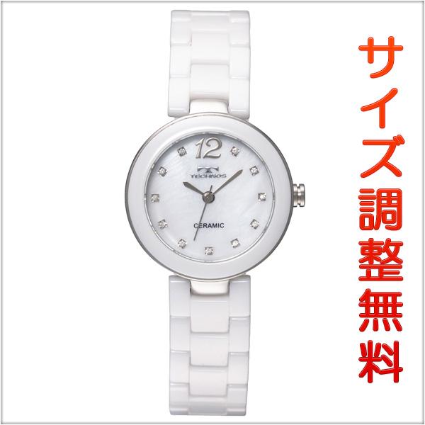 テクノス レディース 腕時計 TECHNOS TSL613TW セラミック ホワイト 【お取り寄せ商品】