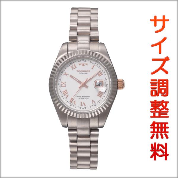 テクノス レディース 腕時計 TECHNOS チタン製 TSL915IW 【お取り寄せ商品】