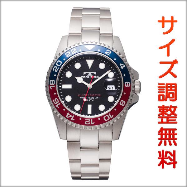 テクノス メンズ 腕時計 TECHNOS TSM412NB ダイバーズ ネイビー 【お取り寄せ商品】 正規品