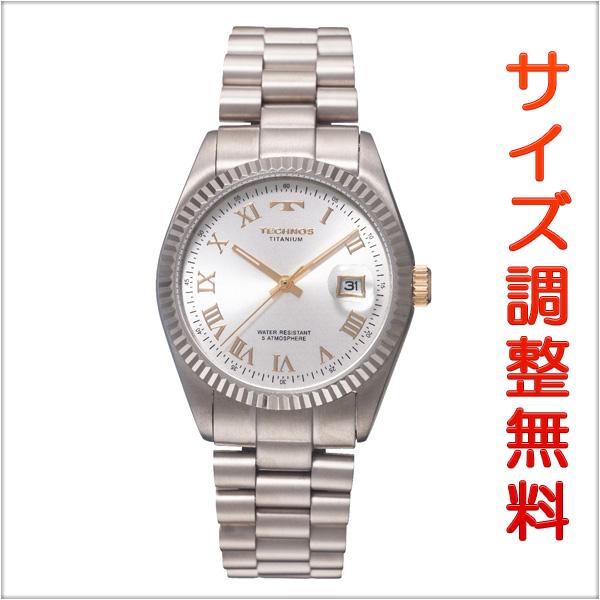 テクノス メンズ 腕時計 TECHNOS TSM914IS シルバー 【お取り寄せ商品】 正規品