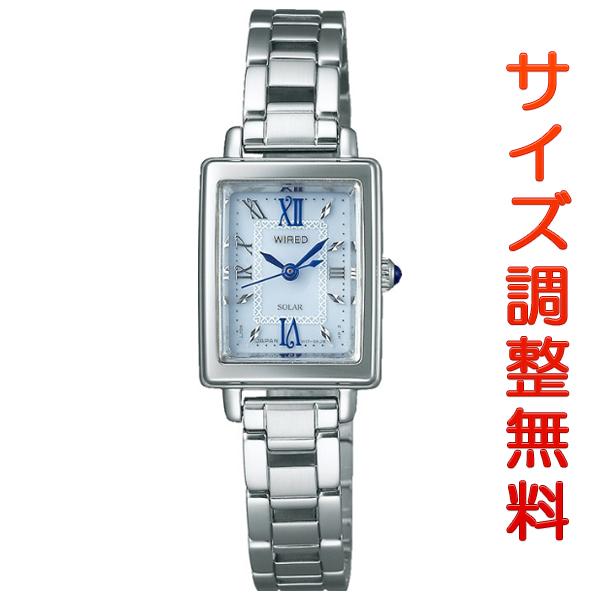 セイコー ワイアード エフ クールヴィンテージ 19mm ソーラー AGED101 SEIKO WIRED f 腕時計 時計 【お取り寄せ商品】