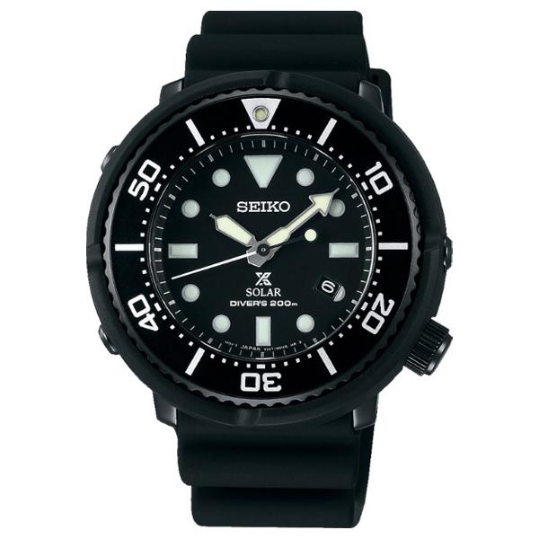 セイコー LOWERCASE ダイバーズウォッチ メンズ 腕時計 SBDN049 SEIKO PROSPEX オールブラック 時計 【お取り寄せ商品】