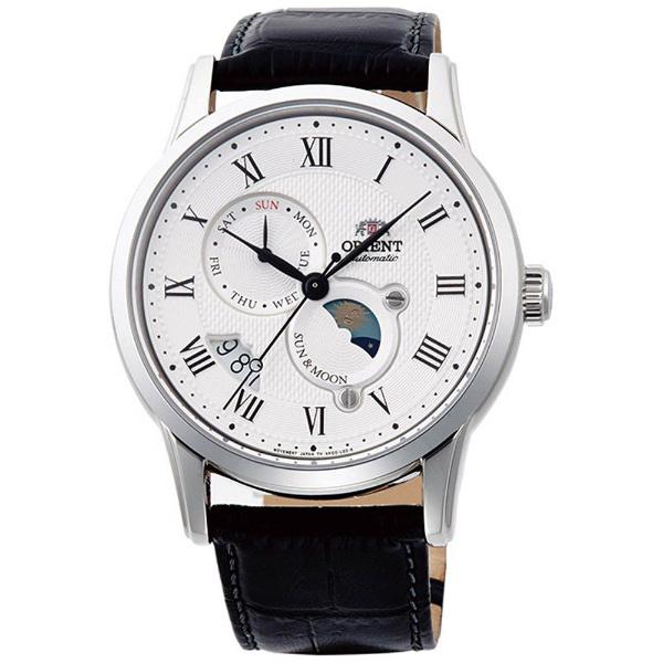 オリエント ORIENT クラシック CLASSIC 腕時計 メンズ 自動巻き オートマチック メカニカル サン&ムーン RN-AK0005S