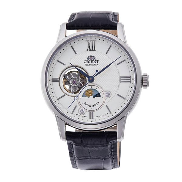 オリエント ORIENT クラシック CLASSIC 腕時計 メンズ 自動巻き オートマチック メカニカル サン&ムーン RN-AS0003S 正規品