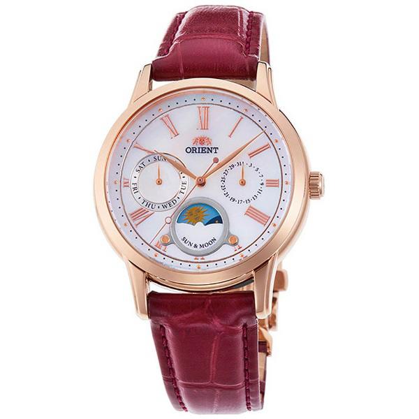 オリエント ORIENT クラシック CLASSIC 腕時計 レディース サン&ムーン RN-KA0001A 正規品