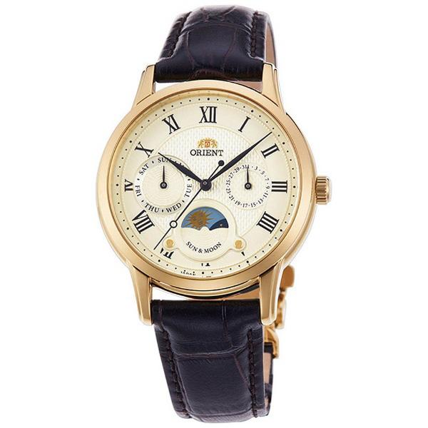 オリエント 腕時計 ORIENT クラシック サン&ムーン 35mm 革ベルト RN-KA0002S 正規品