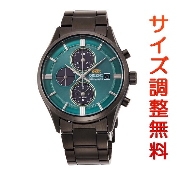 オリエント 腕時計 メンズ ソーラー ORIENT コンテンポラリー CONTEMPORARY クロノグラフ RN-TY0001E 正規品