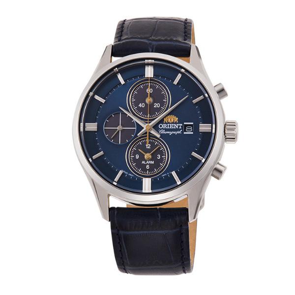 オリエント 腕時計 ORIENT コンテンポラリー クロノグラフ ソーラー RN-TY0004L メンズ 革ベルト 時計